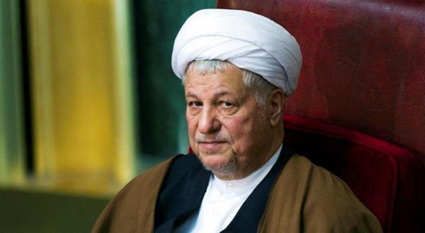 علی اکبر هاشمی رفسنجانی رئیس مجلس تشخیص مصلحت نظام در ایران