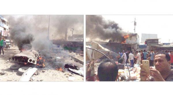 خودروهای بمب گذاری شده و کمربندهای انفجاری جان ده ها عراقی را می گیرند