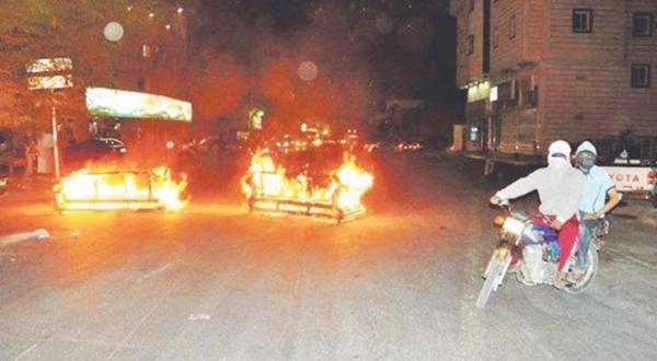 عکس از حوادث و آشوب های العوامیه – عکس از الشرق الأوسط