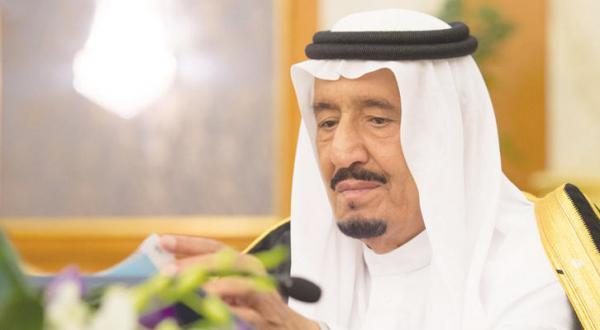 ملک سلمان بن عبد العزیز پادشاه عربستان سعودی در جلسه شورای وزیران در جده – عکس از خبرگزاری عربستان سعودی