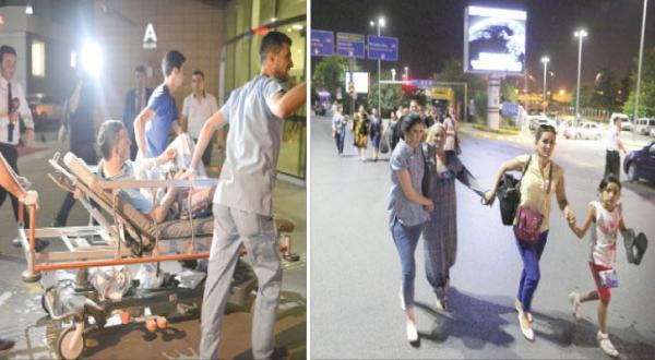 انفجار انتحاری فرودگاه آتاترک استانبول را به لرزه در می آورد و دهها کشته و زخمی بر جای می گذارد