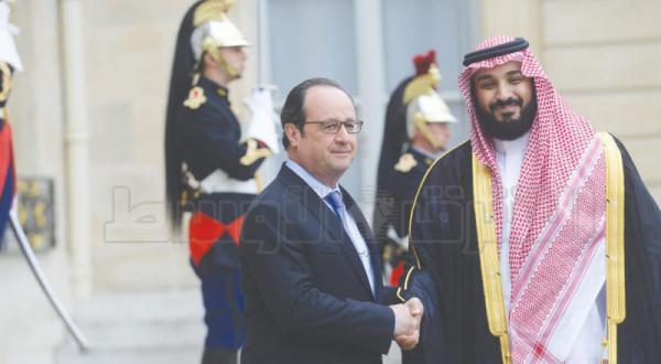 محمد بن سلمان در الیزه… پاریس از چشم انداز ۲۰۳۰ سعودی حمایت می کند
