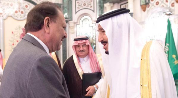 رئیس جمهور پاکستان ورئیس جمهور جزایر کومور در ضیافت افطاری ملک سلمان