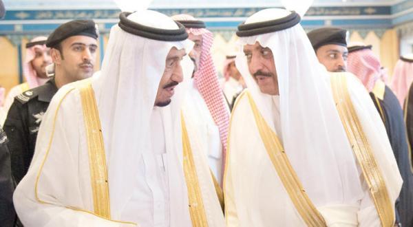 ملک سلمان به مناسب عید سعید فطر پذیرای تعدادی از مسوولین و شهروندان شد