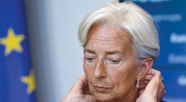 کریستین لاگارد مدیر صندوق بین المللی پول