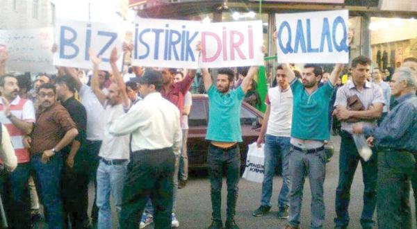 مردم مناطق قشقایی به اعتراضات استانهای ترک نشین در ایران پیوستند
