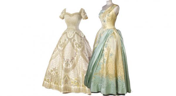 «نود سال شکوه و زیبایی».. طراحی هایی که چهار فصل زندگی «الیزابت دوم» را بازگو می کنند