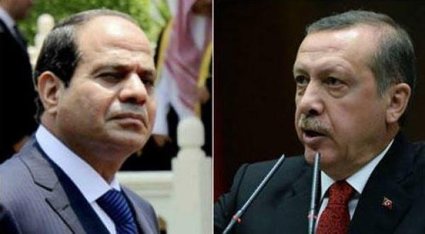 رجب طیب اردوغان رئیس جمهور ترکیه – عبد الفتاح السیسی رئیس جمهور مصر