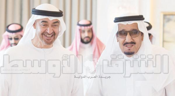پادشاه عربستان سعودی در طنجه با محمد بن زاید دیدار می کند