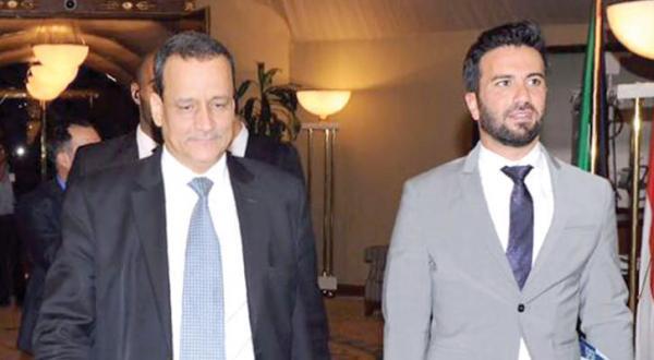 اسماعیل ولد الشیخ فرستاده سازمان ملل هنگام بازگشت به مذاکرات صلح یمن در کویت در 16 جولای گذشته – عکس از خبرگزاری فرانسه