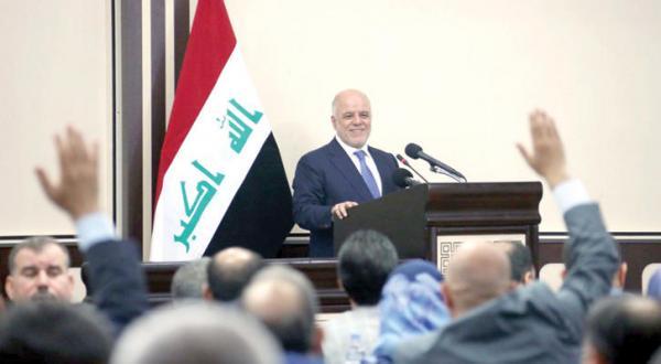 پارلمان عراق به ۵ نفر از تکنوکرات های العبادری رأی اعتماد می دهد