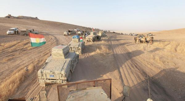 کردستان به العبادی: پیشمرگه تا آزادسازی موصل ادامه خواهند داد
