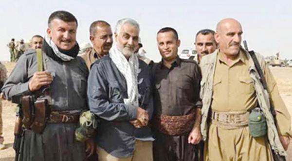 ۶ اردوگاه ایرانی در جنوب کرکوک