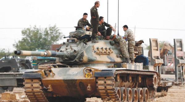 با حمایت آنکارا، «داعش» خارج از جرابلس.. و روسیه نگران