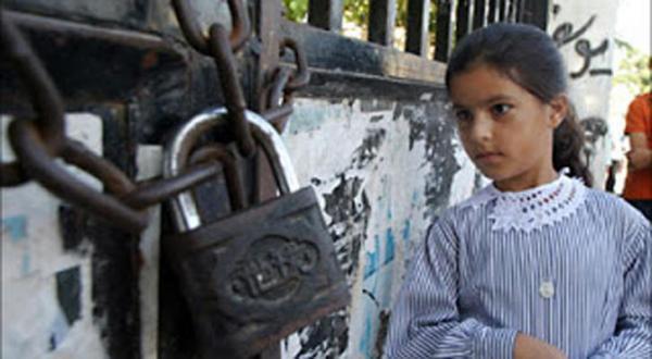 یک کودک عرب فلسطینی در اسرائیل