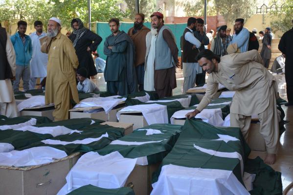 ۶۱ نفر در حمله به دانشگاه افسری پاکستان کشته شدند