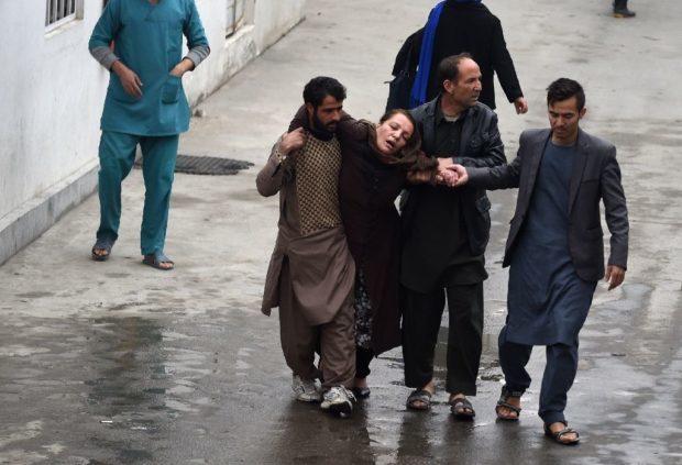 حمله به مسجد کابل