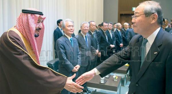 یادداشت های همکاری اقتصادی در راستای پیشبرد روابط عربستان سعودی و ژاپن