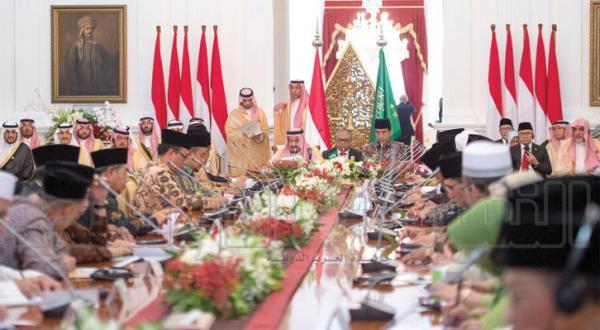 امضای سه توافقنامه تجاری ۳٫۶ میلیارد دلاری بین عربستان سعودی و اندونزی