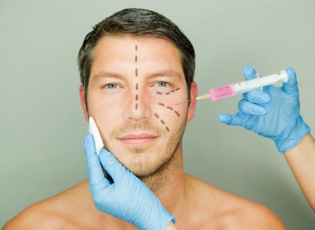 عمل جراحی زیبایی روی مردان -آسوشیتدپرسس
