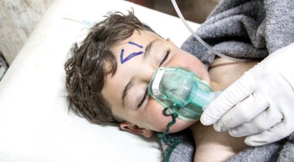 حمله شیمیایی در ادلب سوریه و کشته شدن کودکان