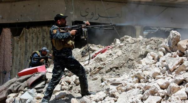 """حمله پلیس فدرال عراق به آخرین نقاط تمرکز """"داعش"""" در موصل"""