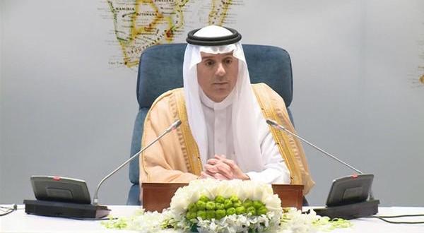 عادل الجبیر وزیر امور خارجه عربستان سعودی