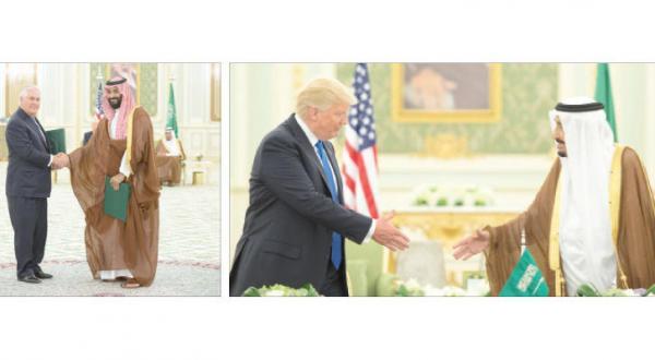 نشست سران عربستان سعودی و آمریکا و امضای توافقنامه چشم انداز مشترک