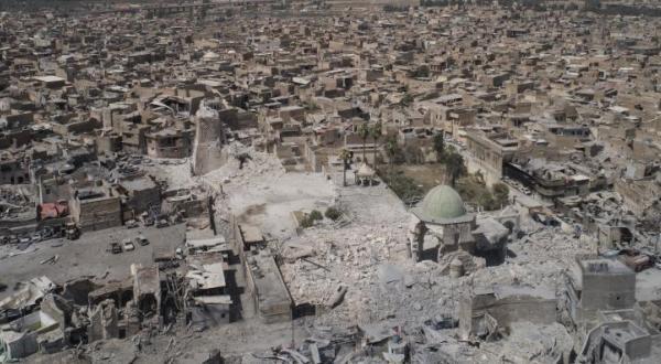 """عبادی بعد از بازپس گیری مسجد """"نوری"""": پایان """"داعش"""" در عراق"""