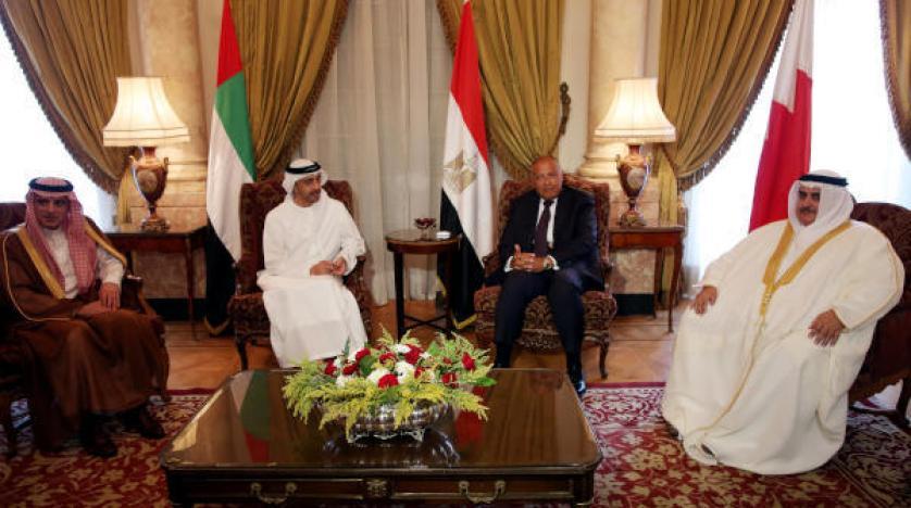 بیانیه پایانی چهار کشور عربی: تنها گزینه پیش روی قطر توقف حمایت از تروریسم است