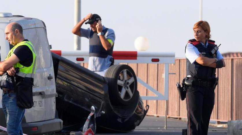 ۱۴ کشته و صد زخمی در حمله تروریستی بارسلونا