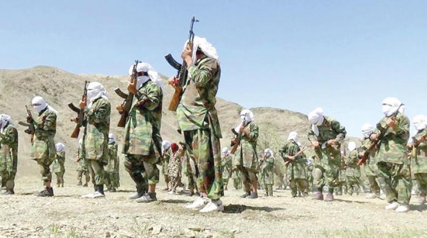 فعالیت  طالبان در نزدیکی مرز ایران
