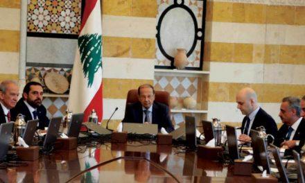 از سرگیری رایزنىها برای تشکیل کابینه لبنان