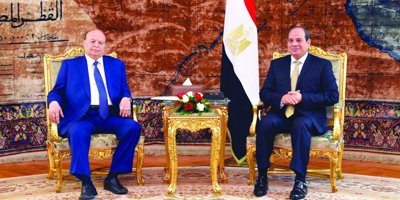 عبدربه هادی در قاهره؛ سفری با دو هدف