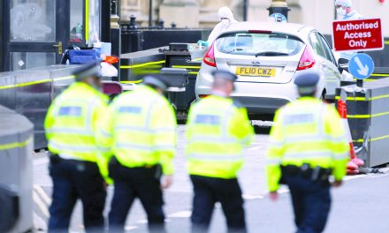 شبح تروریسم بر فراز لندن