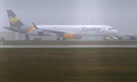 فرود اضطراری هواپیمای آلمانی از ترس بمبگذاری در یونان