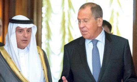 الجبیر و لاوروف؛ توافق بر گسترش همکاریهای دوجانبه