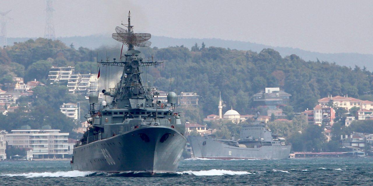 همزمان با تشدید خشونتها در سوریه؛ روسیه در مدیترانه رزمایش انجام میدهد