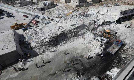 ۱۲ غیرنظامی در انفجار انبار مهمات در سوریه کشته شدند