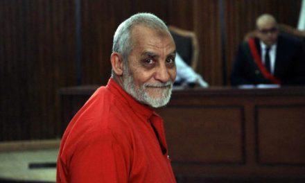 رهبر اخوان المسلمین به حبس ابد محکوم شد