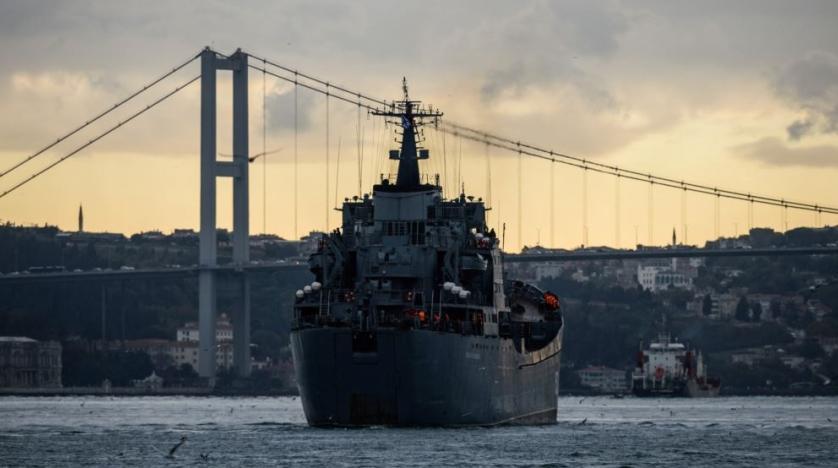 روسیه ناو مجهز به موشک بالدار راهی سواحل سوریه کرد