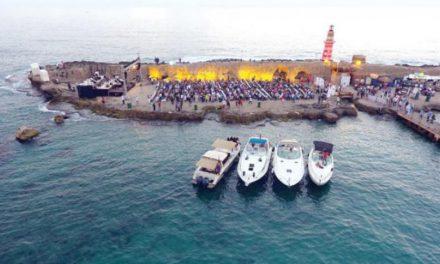 بزرگ ترین پارک آبی لبنان در شهر صیدا افتتاح شد