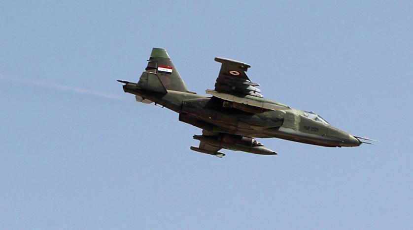 حمله اف-۱۶های عراقی به اتاق عملیات داعش در سوریه