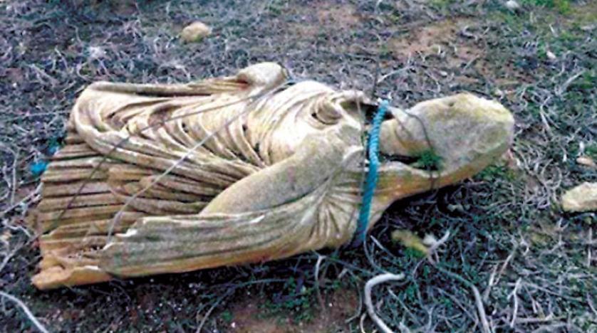 سرقت و تخریب یک گورستان تاریخی در «شحات» لیبی