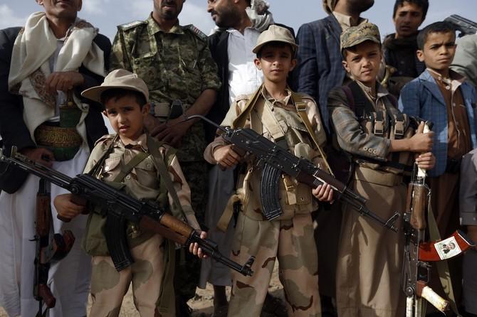 آمار وحشتناک کودکان مسلح در میان شبه نظامیان حوثی