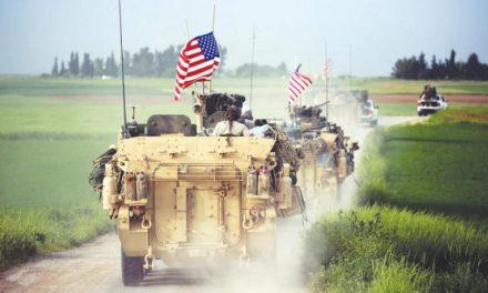 آمریکا در جنوب سوریه مانور نظامی برگزار کرد