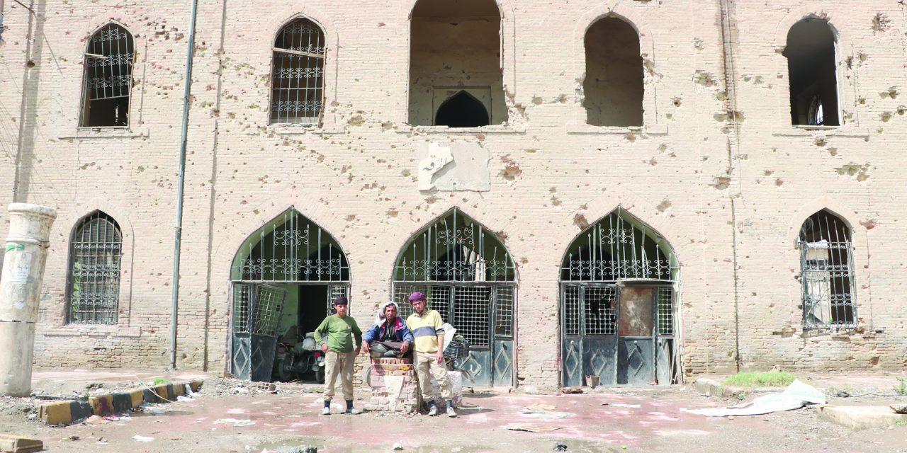 مرمت آثار باستانی «رقه» توسط داوطلبان