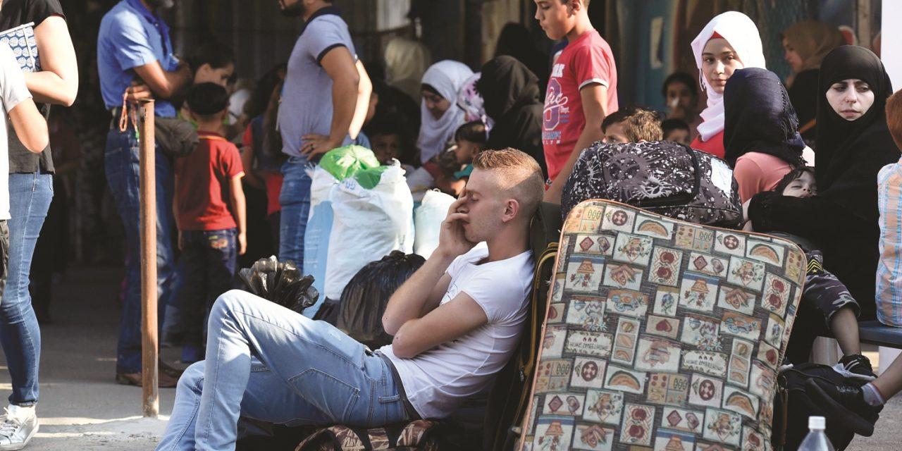 بیش از ۳۰ هزار نفر آواره جنگ در ادلب