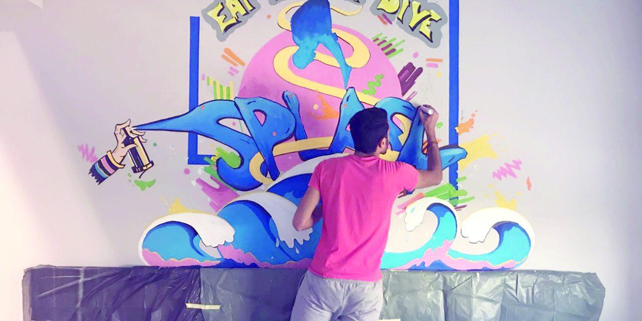 شبکه «جدار» حلقه وصل بین هواداران و هنرمندان گرافیتی