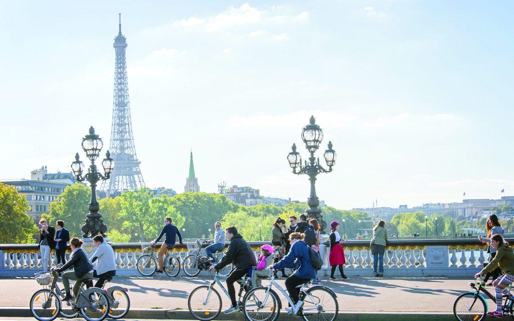 طرح تشویقی فرانسه برای استفاده شهروندان از دوچرخه